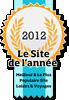 Site de l'année 2012