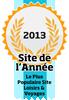 Site de l'année 2013